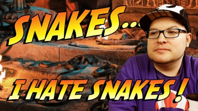 Snakes…I Hate Snakes! – Blood Lake Rant