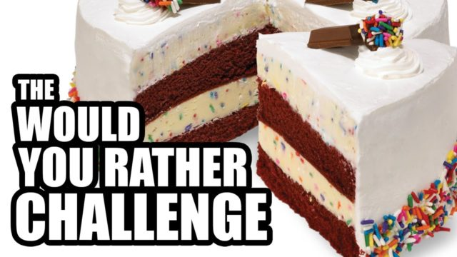 "The ""Would You Rather"" Challenge – Bloopers"