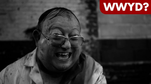 What Would You Do in The Human Centipede 2?