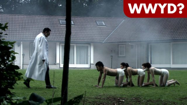 What Would You Do in The Human Centipede?