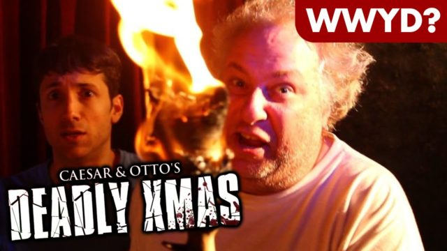 What Would You Do in Caesar and Otto's Deadly Xmas?