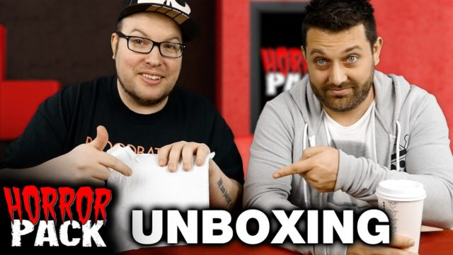 Horror Pack February 2016 Unboxing! – Horror Movie Subscription Box