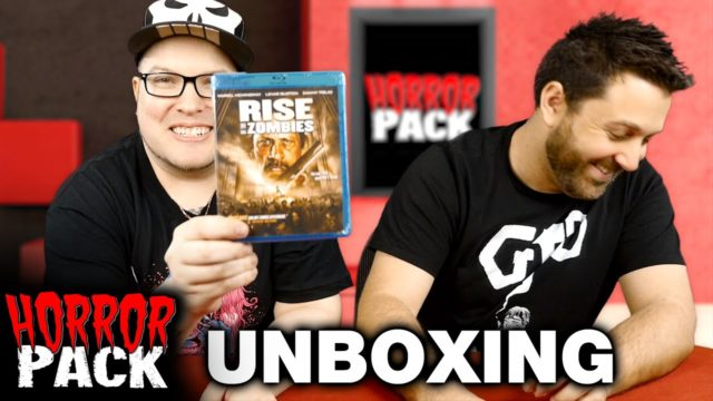 Horror Pack April 2016 Unboxing! – Horror Movie Subscription Box