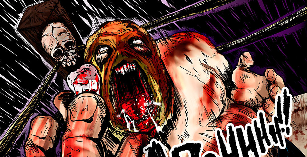 "LUCHAGORE's ""El Gigante"" becomes a gore-filled horror comic"