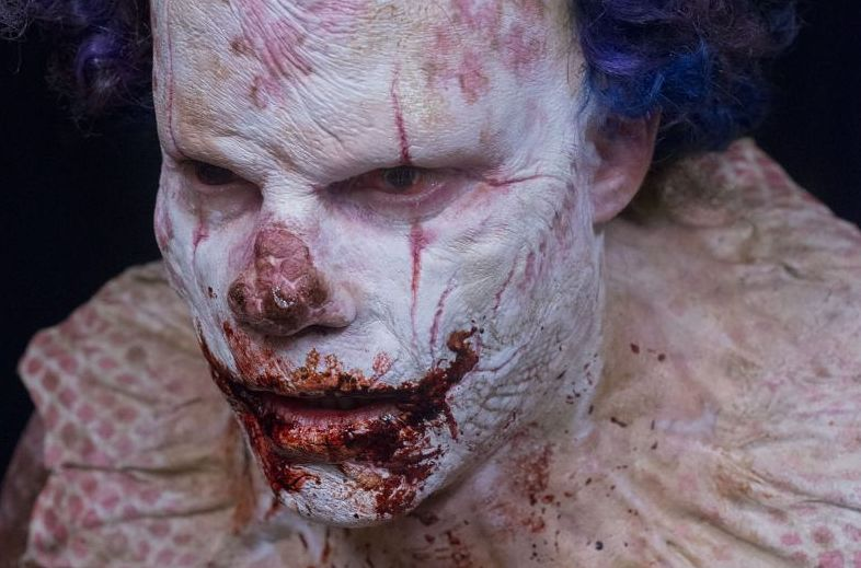 CLOWN gets a nose job in this new clip!