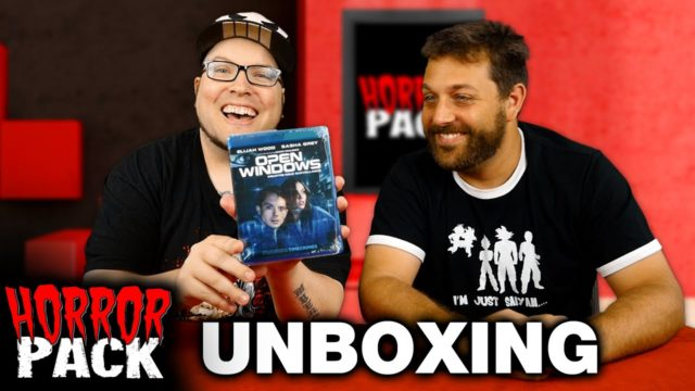 Horror Pack July 2016 Unboxing! – Horror Movie Subscription Box