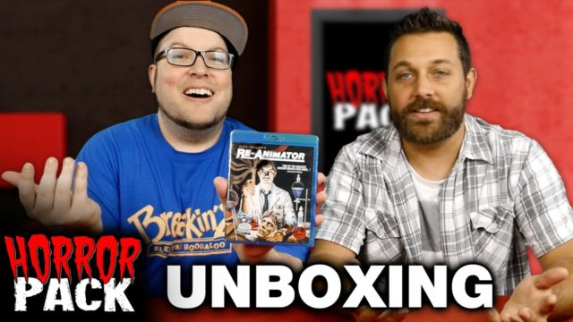 Horror Pack August 2016 Unboxing! – Horror Movie Subscription Box