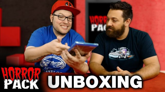Horror Pack September 2016 Unboxing! – Horror Movie Subscription Box