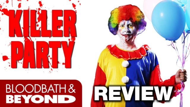 Killer Party (2014) – Horror Movie Review