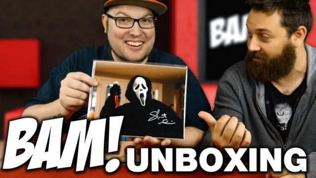 Bam Box Unboxing October 2016 – Horror Subscription Box