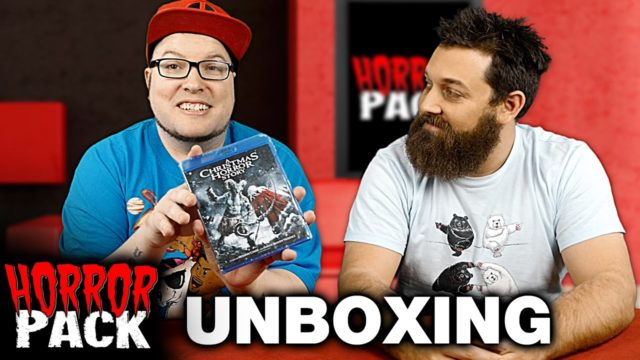 Horror Pack December 2016 Unboxing! – Horror Movie Subscription Box