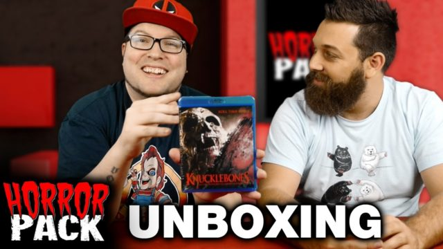 Horror Pack November 2016 Unboxing! – Horror Movie Subscription Box