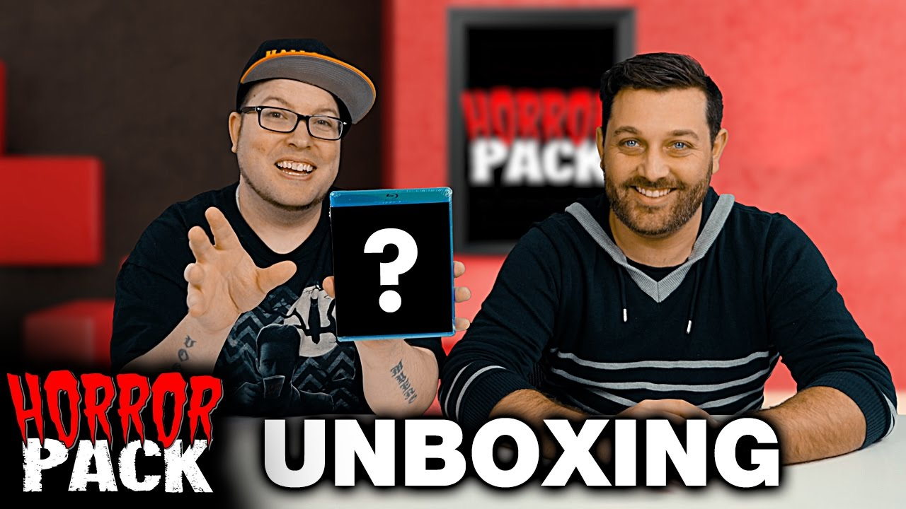 February 2017 Horror Pack Unboxing! – Horror Movie Subscription Box