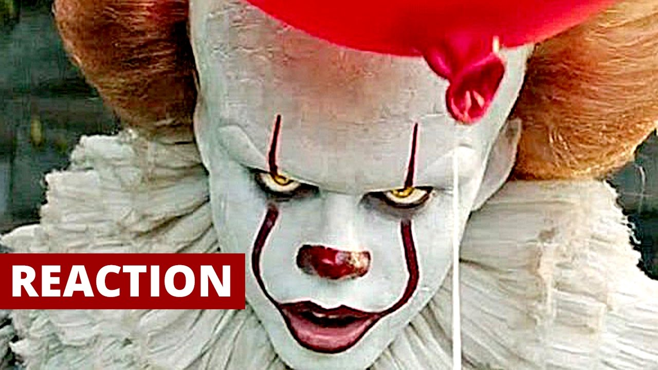 it  2017  official trailer  2 reaction and review