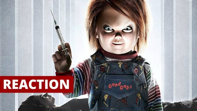 Cult of Chucky (2017) Red Band Trailer Reaction and Review