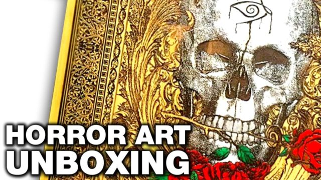 Engraver's Dungeon Horror Art Unboxing