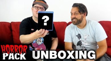 July 2017 Horror Pack Unboxing! – Horror Movie Subscription Box