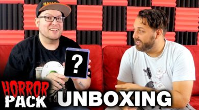 August 2017 Horror Pack Unboxing! – Horror Movie Subscription Box