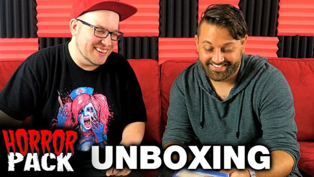 September 2017 Horror Pack Unboxing! – Horror Movie Subscription Box
