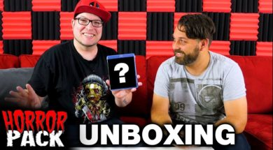 October 2017 Horror Pack Unboxing! – Horror Movie Subscription Box