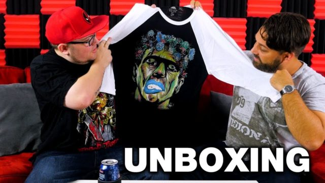 The Secret Societee Horror Shirts and Artwork Unboxing