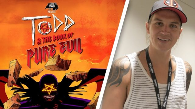 Jason Mewes Talks Todd and the Book of Pure Evil – Fan Expo Canada 2017 Interview