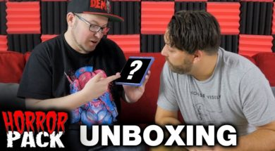 November 2017 Horror Pack Unboxing! – Horror Movie Subscription Box