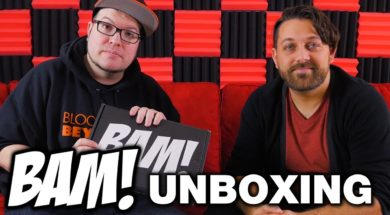Bam Box Horror Unboxing December 2017 – Horror Subscription Box