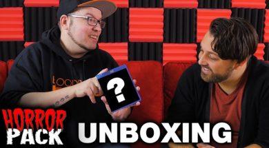 December 2017 Horror Pack Unboxing! – Horror Movie Subscription Box