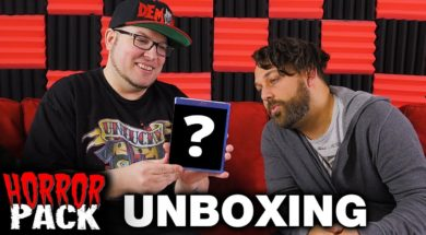 January 2017 Horror Pack Unboxing! – Horror Movie Subscription Box