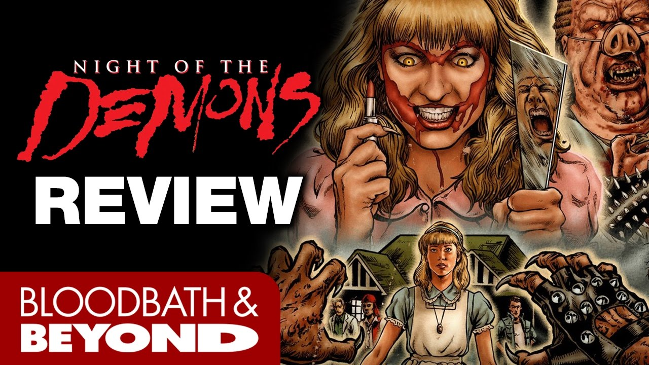 Amelia Kinkade Night Of The Demons night of the demons (1988) - horror movie review | bloodbath
